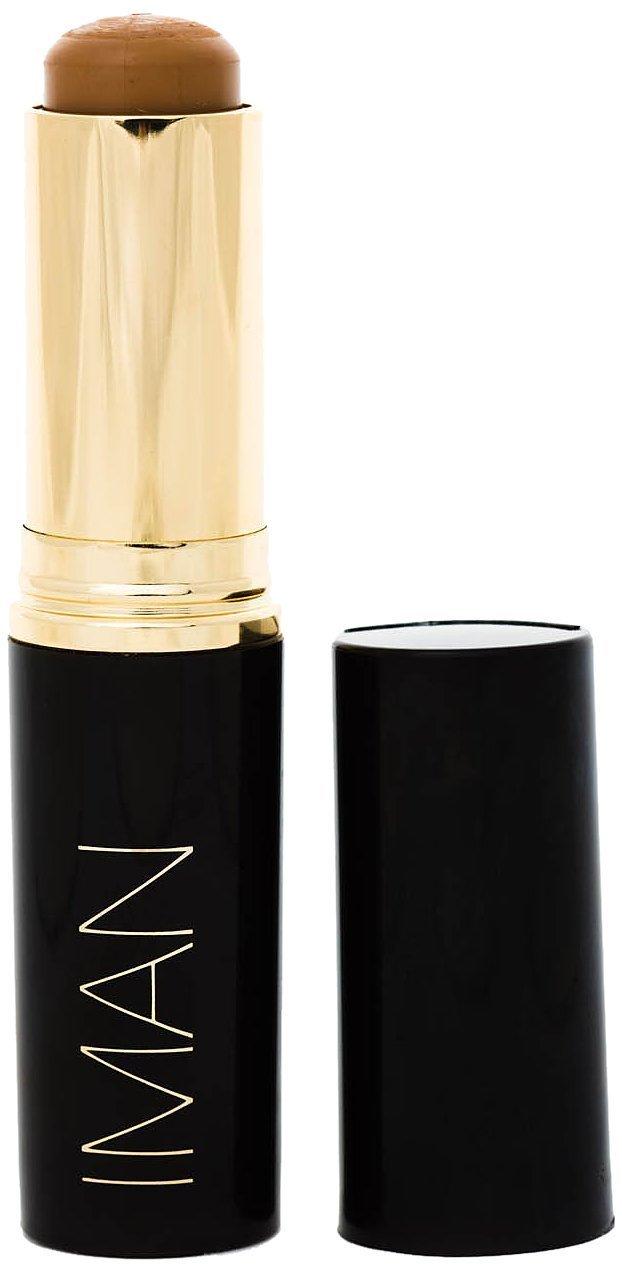 IMAN Cosmetics Second to None Stick Foundation, Medium Skin, Clay 5