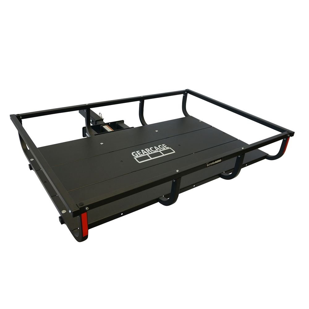 Let's Go Aero H01380 GearCage FP4 Slideout Hitch Rack 48in x 32in x 7in