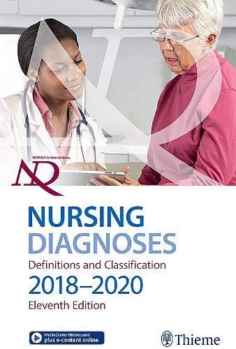 2018 Handbook - NANDA International Nursing Diagnoses: Definitions & Classification, 2018-2020