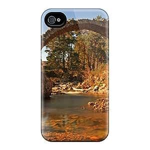 New Arrival Ancient Stone Bridge NRKQYQw4410jAoDX Apple Iphone 4/4S Case Cover