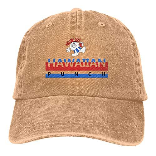 Easy Rum Punch Recipe (Hawaiian Punch Cap for Women Men, UV Protection Vintage Cowboy Cap,Rum Punch Recipe Cap,Root Bear)