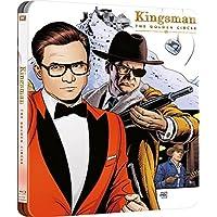 Kingsman. El Circulo Dorado (Blu-ray Steelbook), la portada puede variar
