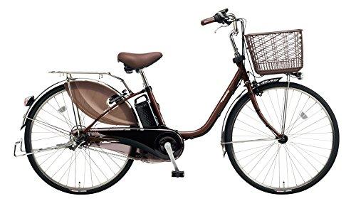 Panasonic(パナソニック) 2018年モデル ビビDX 24インチ BE-ELD434 電動アシスト自転車 専用充電器付 B078K89H34 T:チョコブラウン T:チョコブラウン