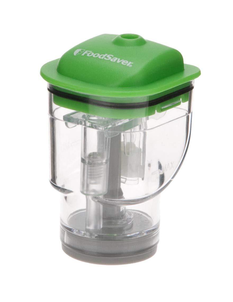 Foodsaver 137207-000-000 Zipper Bag Adapter Vacuum Sealer, White by FoodSaver