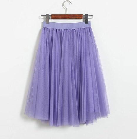 YUFUFU Ropa Faldas de Tul Falda de Tul para Mujer para Adultos ...