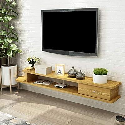 Portable لمحمول Ledge Tv Rack Entertainment Cabinet Floating Rack
