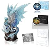 Monster Hunter World: Iceborne Velkhana Figure Statue & Art Book & Sound Truck 2 Set & Metal Plate Japan Original Limited Box (Product Code Not Included : Figure Statue Only)