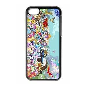 Mi caja del teléfono celular pequeño potro O2J0Yo Funda LG G 5C funda Negro V1W6PC Haga su propia funda caja del teléfono celular