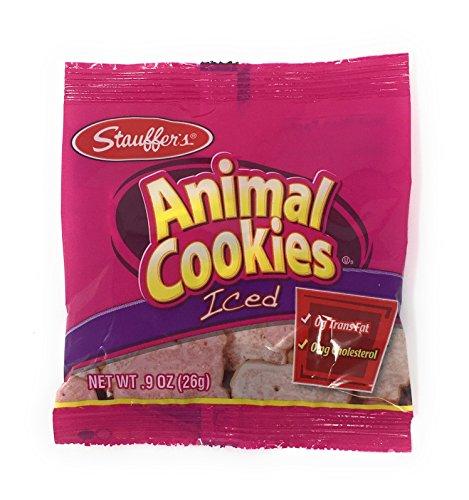 Stauffer's 20 Mini Snack Packs Iced Animal Cookies, .9 Oz. ()