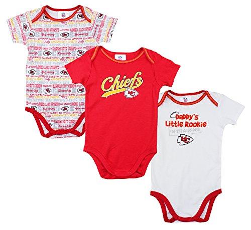 Kansas Chiefs Unisex Infant Bodysuit
