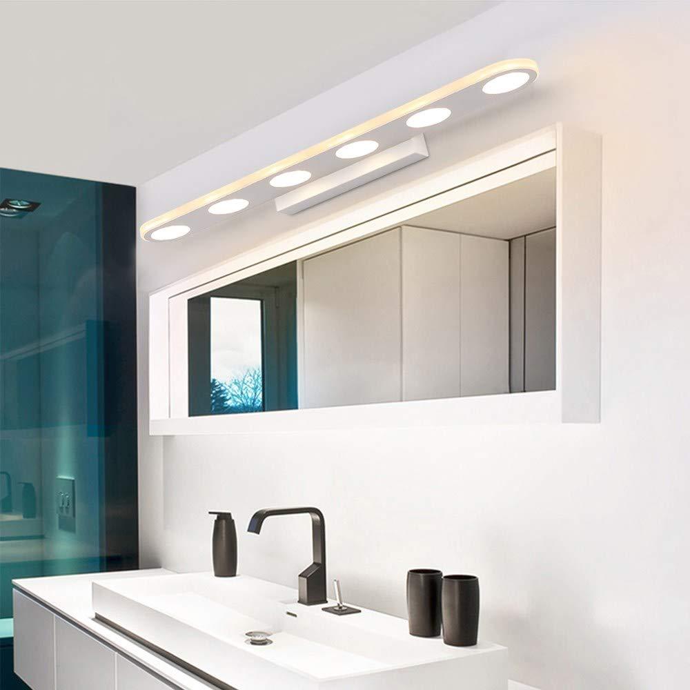 De Leo Color Moderna Led Home Lámpara Baño Cuarto O80nwPXk