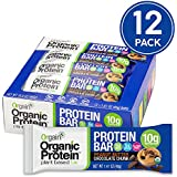 Orgain Organic Protein Bar, Peanut Butter Chocolate Chunk, Vegan, Gluten Free, Non-GMO, USDA Organic, 1.41 Ounce, 12 Count