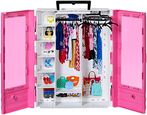 Barbie Fashionistas Ultimate Closet Portable Fashion Toy for 3 to 8 Year Olds