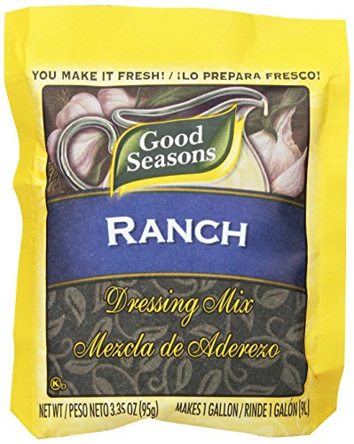 ingredients for ranch dressing mix - 8