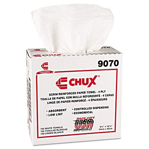 (Chix 9070 Chux General Purpose Wipers, Drc, 9 1/2 X 16 1/2, White,)