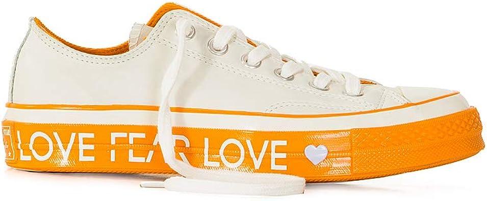 Converse Scarpe Donna Mod Chuck 70 Ox Love Graphic Bianco