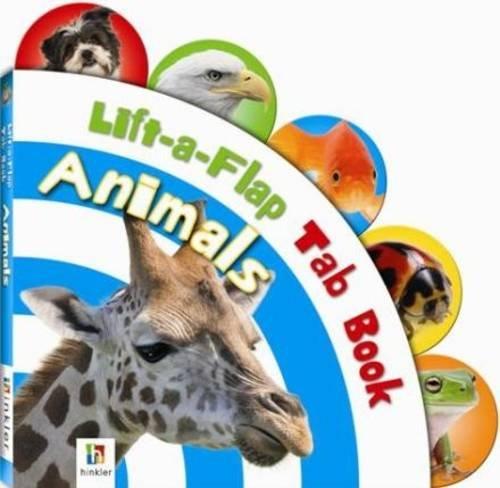 Read Online Lift-A-Flap Tab Board Books: Animals pdf epub