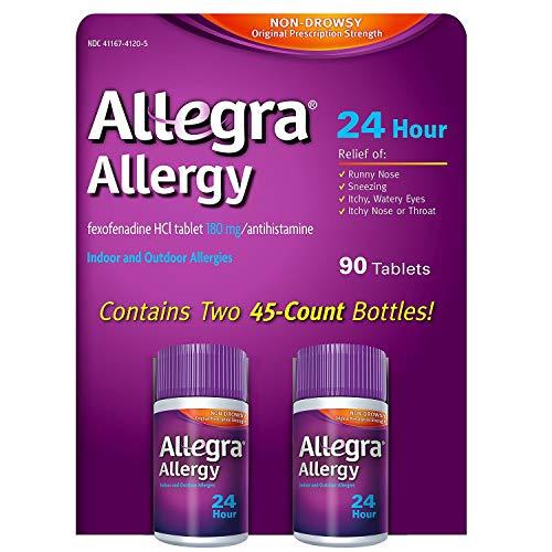 [알레그라] Allegra Allergy Antihistamine Tablets , 70 CT (Pack of 4) [비염 알레르기]