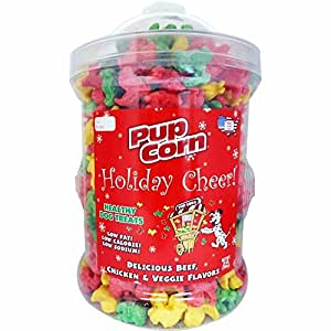 Amazon.com : Pupcorn Holiday Cheer Hydrant, Color: Beef