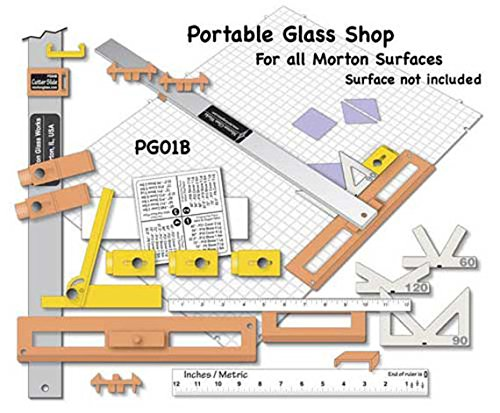 Portable Glass Shop - Use with Morton Surface or Creator Waffle Grids by Morton Glass Works