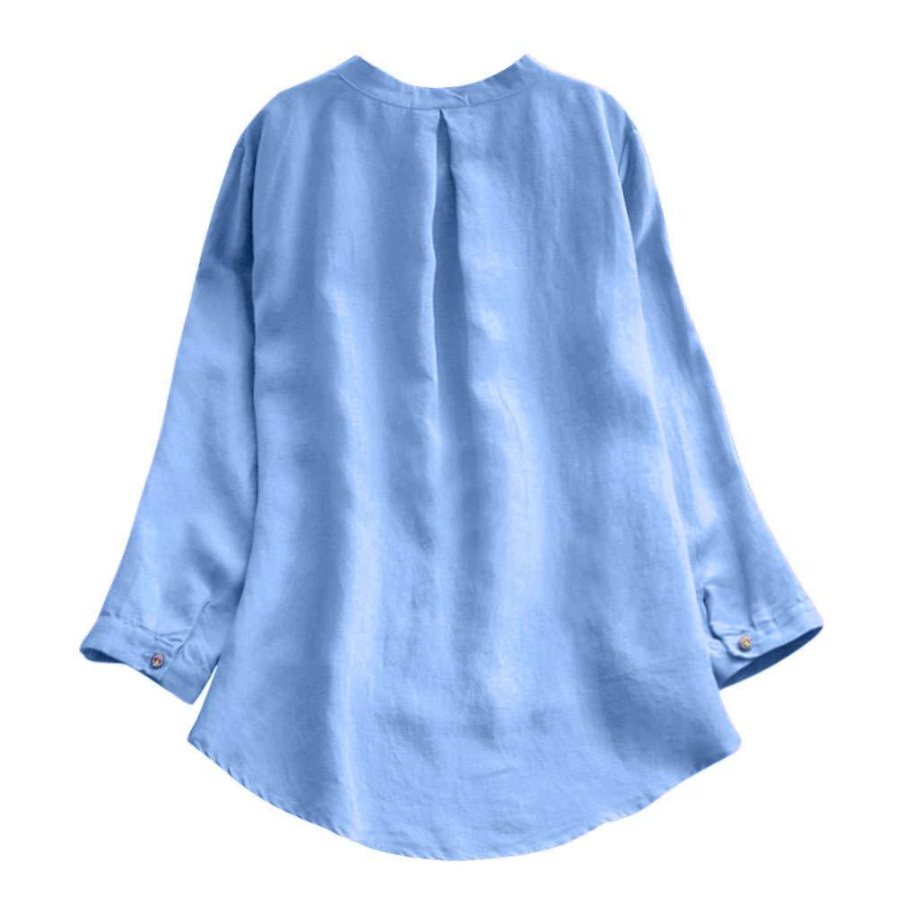 MERICAL Retro Langarm-Beiläufige Damen Oberteile Blusen Minirock Damen MERICAL T-shirt Damen Nr.1