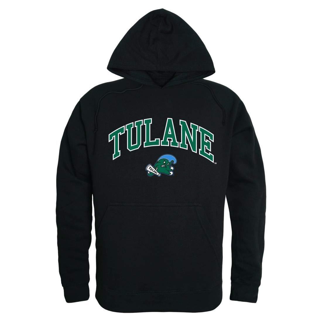 6fb2b689 W Republic Apparel Tulane Tulane Tulane University Green Wave Campus Hoodie  Sweatshirt Black 5565fc