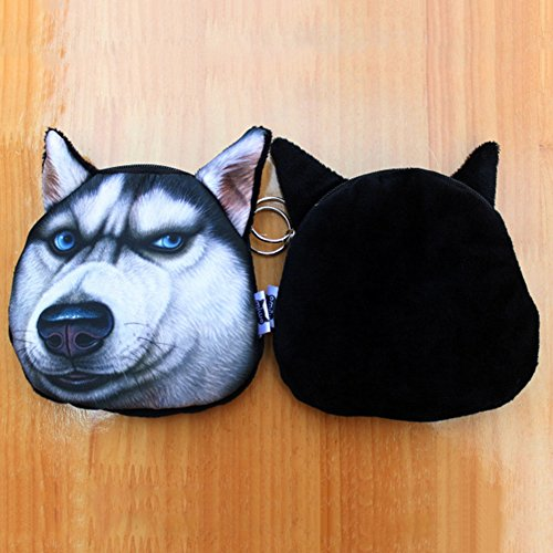 Small Purse Women Face 2 B Dog Ployester Available Style Soft Funny Per Coin Men Rq0ndwRz