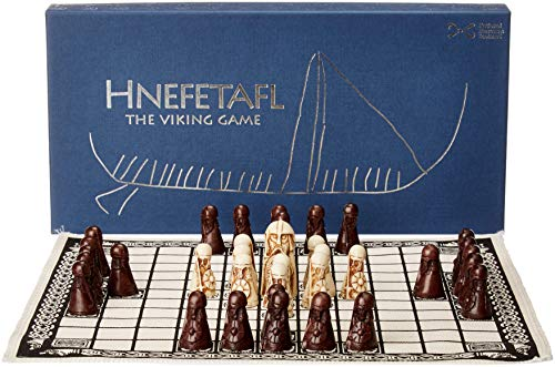 - NMS Hnefatafl - The Viking Game - Includes Uniquely Designed Cotton Drawstring Pouch/Bag for Playing Pieces