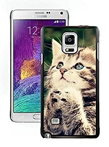 Provide Personalized Customized Christmas Cat Black Samsung Galaxy Note 4 Case 29