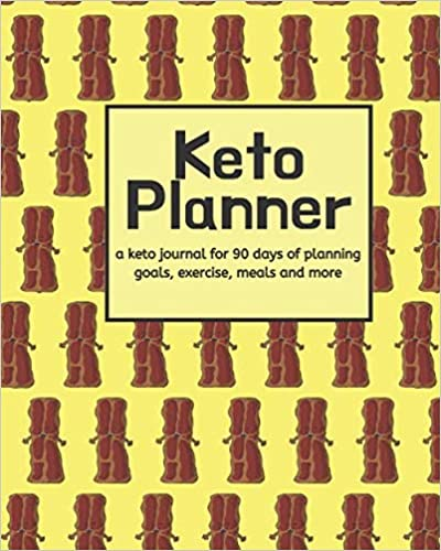 Bacon Lover's Keto 90 Day Planner (8x10)