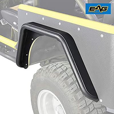 EAG Rear Fender Flares Fit for Corner Guards Off Road Armor 3 inch Fit for 97-06 Jeep Wrangler TJ: Automotive