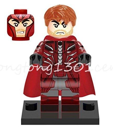 Super Heroes X-Men: Apocalypse Mini Figures Magneto Max Eisenhardt Building Toys