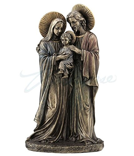 Veronese (ヴェロネーゼ) 聖家族 光輪 キリスト マリア ヨセフ ブロンズ風 B076D9XJR2