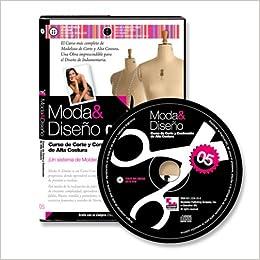 Moda y Diseno 5. Curso de Corte y Confeccion de Alta Costura (Spanish Edition): Nelida Lopez, + de 6 horas de video!, Miles de imagenes a todo color: ...