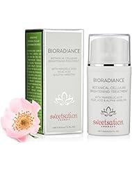 BioRadiance Botanical Cellular Brightening Treatment with Mandelic acid, Kojic acid & Alpha-Arbutin, 2oz