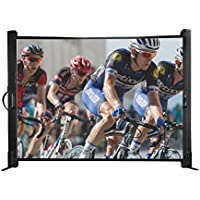 SHOW-50: Table Top Portable Projector Screen (4:3) | 50 inch | Ultra Portable - 8 lbs | Fits in Airplane Compartment | 2 Min Setup | 16:9 Format | Great for Pico and Mini Projectors | 1 Year Warranty