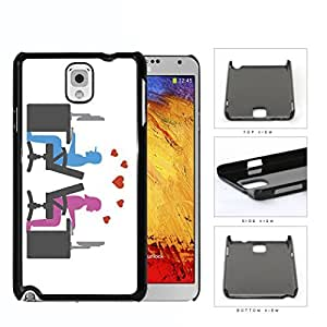 Social Media Computer Nerd Lovers Hard Plastic Snap On Cell Phone Case Samsung Galaxy Note 3 III N9000 N9002 N9005