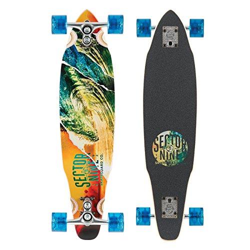 sector-9-chamber-drop-through-flush-mount-complete-skateboard-assorted