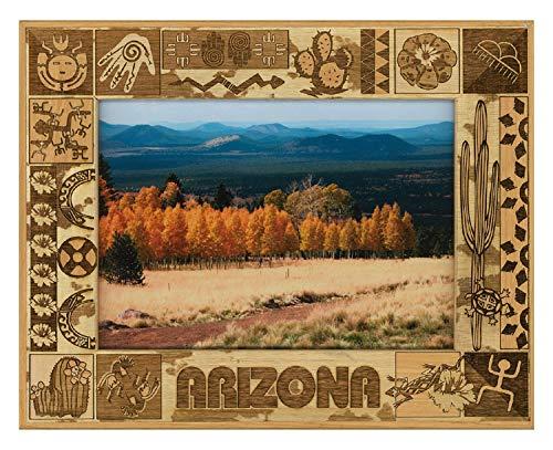 Arizona Laser Engraved Wood Picture Frame (5 x 7)