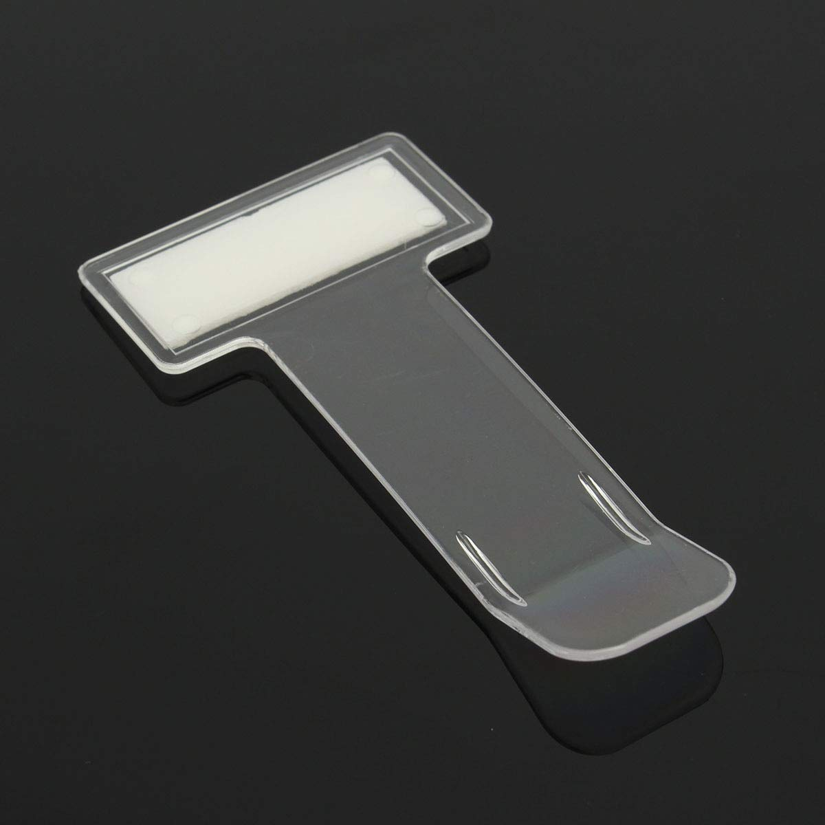 2Pcs Car Vehicle Parking Ticket Permit Clip Sticker Holder Windscreen Window