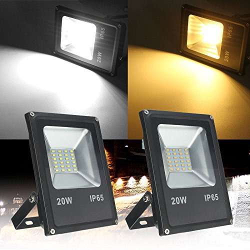 Outdoor Led Flood Light - Waterproof Led Flood Light - 20W 5730 Outdooors Waterproof Landscape Flood Garden Lamp - Warm White (Landscape Flood Lights) by Unknown