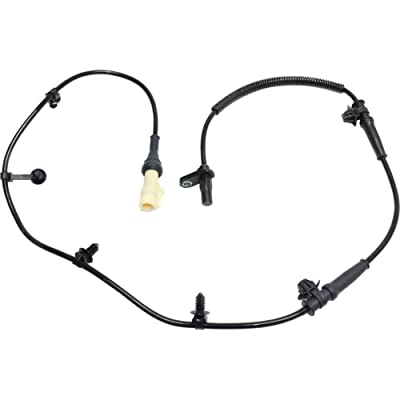 ABS Wheel Speed Sensor Front Driver Side Left compatible with 07-15 Ford Edge Lincoln MKX: Automotive