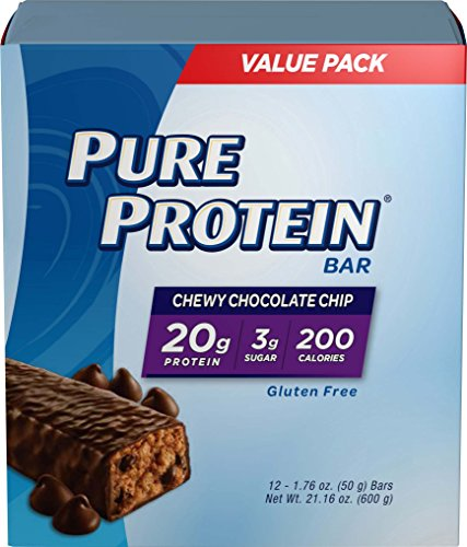 Pure Protein Chocolate Chip Bar, 12 Count