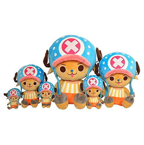Aries Tuttle Large One Piece Chopper Costume Monkey D. Luffy Stuffed Plush Doll Kids Birthday Gift Toy