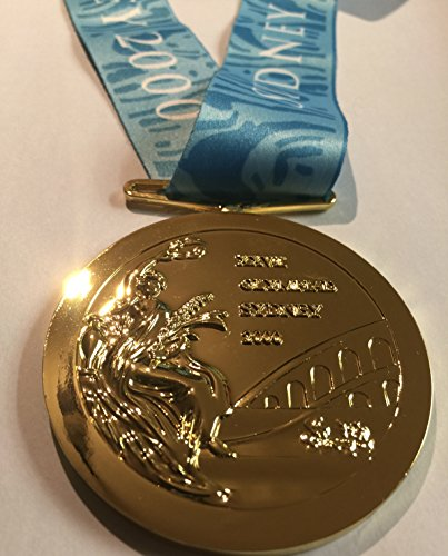 2000 Sydney Australia Olympic Souvenir Gold Medal with Ribbon RARE TEAM USA (Not a Pin or Coin) (Olympic Sydney Pins)