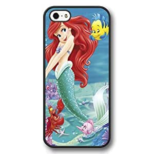 The Little Mermaid Ariel Classic Disney Cartoon Movie Hard Plastic Phone Case Cover For Htc M7 Cover - Black