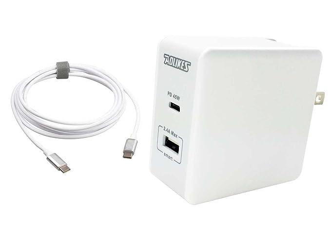 Amazon.com: AOLIKES USB tipo C 45 W PD entrega de potencia + ...