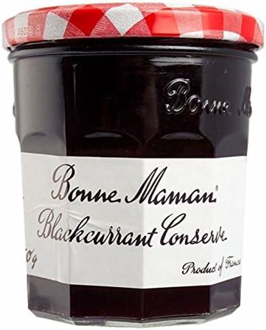 Bonne Maman Blackcurrant Conserve (370g) 良いママブラックカラントジャム( 370グラム)