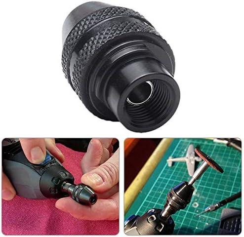 Yosoo Health Gear Llave de portabrocas de 4 v/ías Llave de portabrocas Universal 4 en 1 para taladros de apriete Portabrocas de combinaci/ón Universal