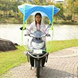 fashion Bike and scooter sun canopy umbrella wind proof and water resistance umbrella